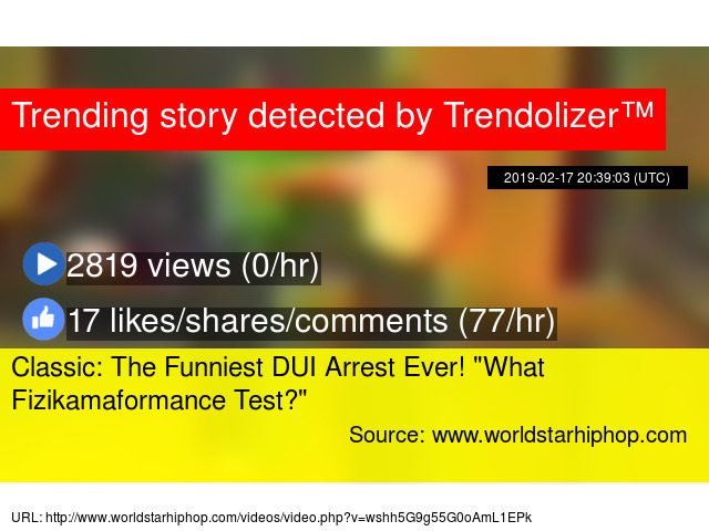 Image of: Funniest Moments Classic The Funniest Dui Arrest Ever quotwhat Fizikamaformance Testquot Youtube Classic The Funniest Dui Arrest Ever quotwhat Fizikamaformance