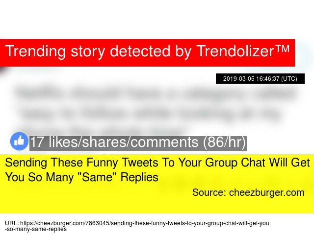 Sending These Funny Tweets To Your Group Chat Will Get You