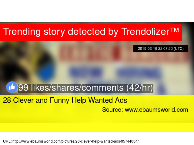 28 Clever and Funny Help Wanted Ads